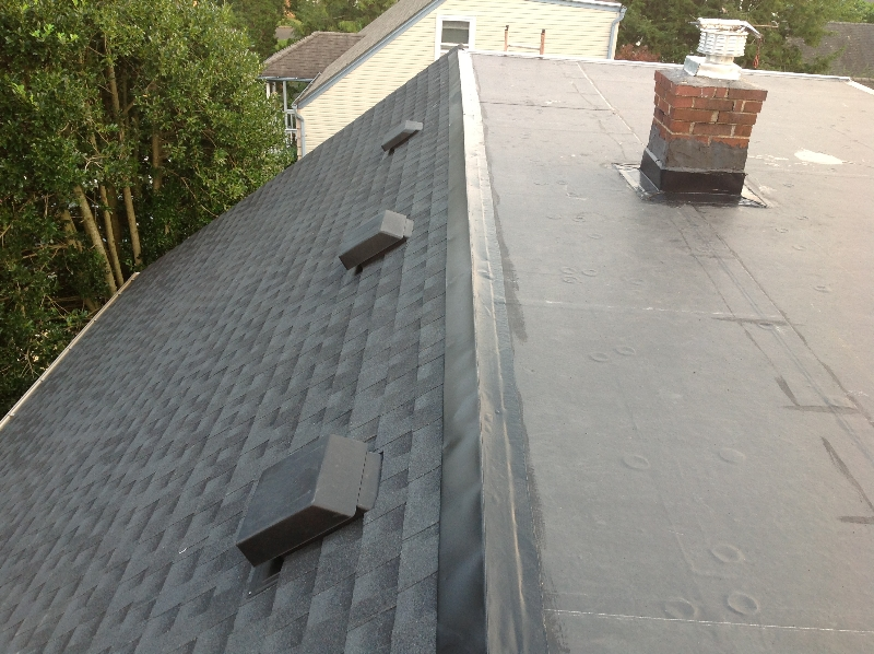 Jc Contractor 187 Epdm Commercial Flat Roof Englishtown