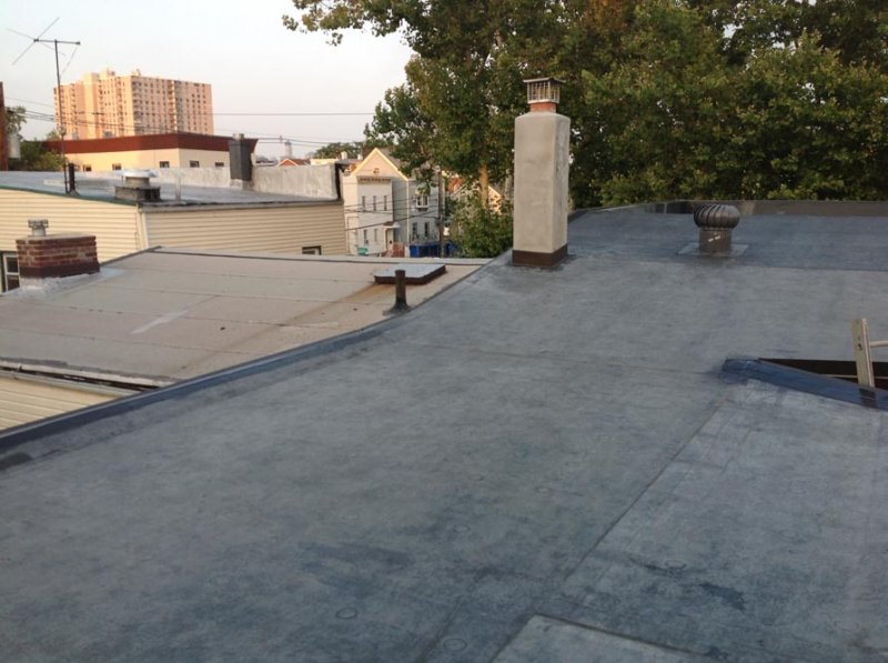 Jc Contractor 187 Flat Commercial Roof Jersey City Nj