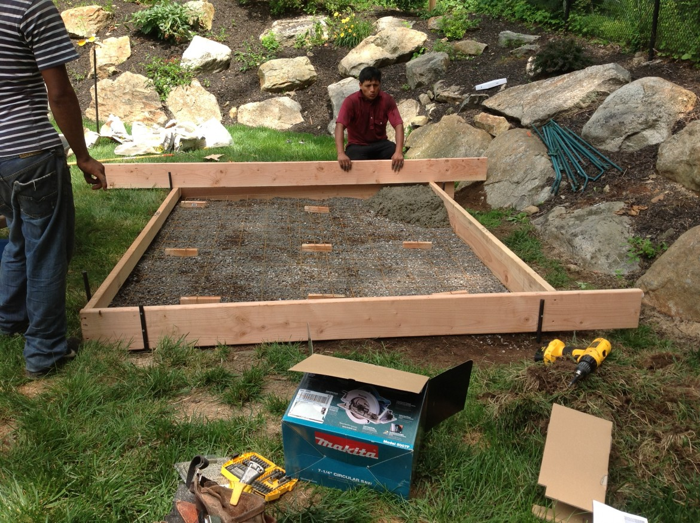 Concrete Greenhouse Foundation, Flanders, NJ