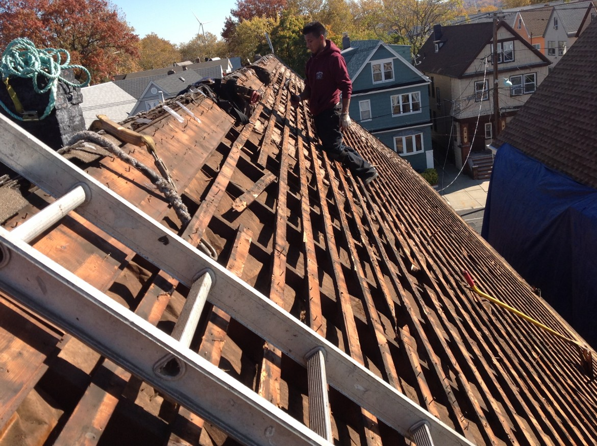Bayonne Steep Roofing Project