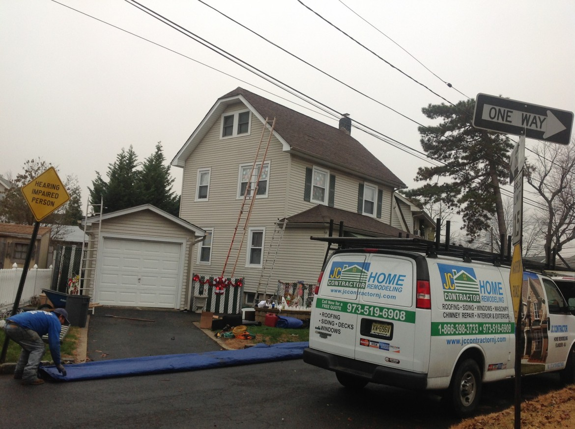Residential Roofing Project, Bloomfield, NJ
