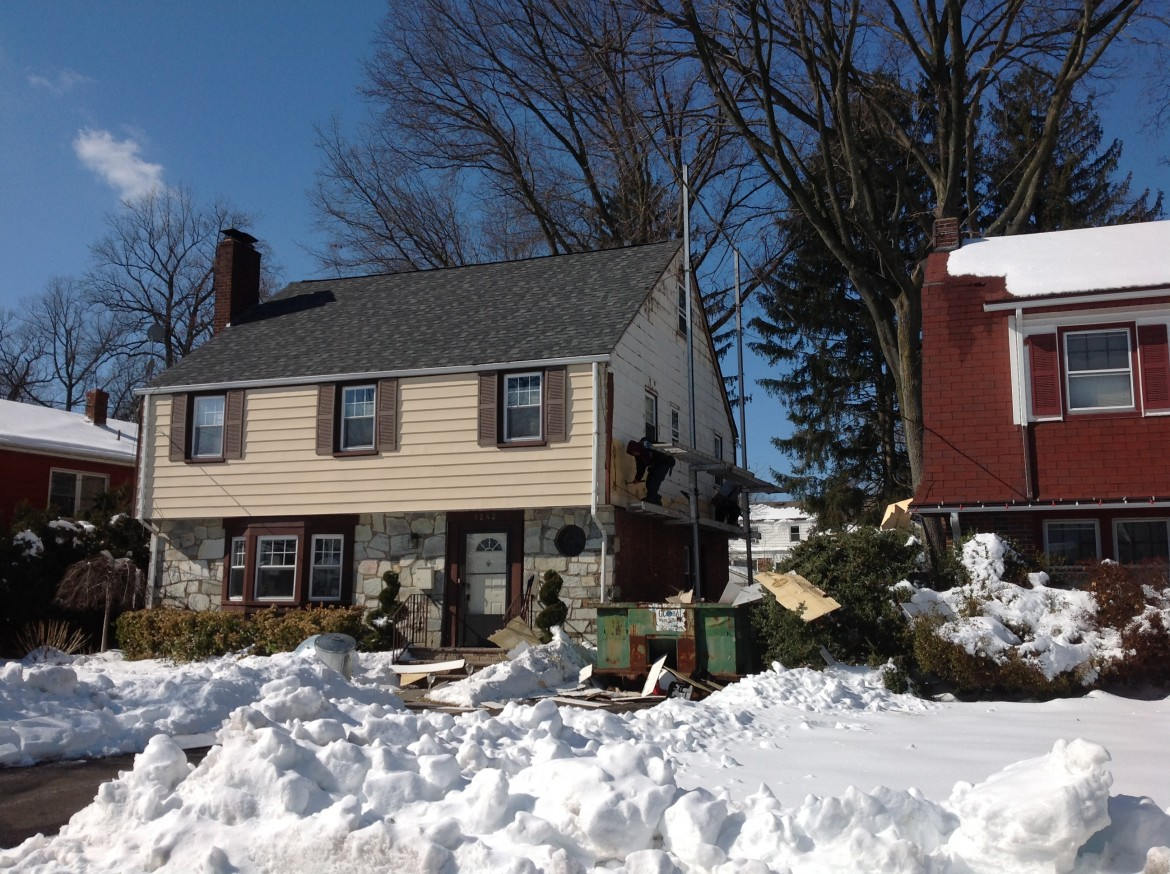 Roofing Project, Teaneck, NJ