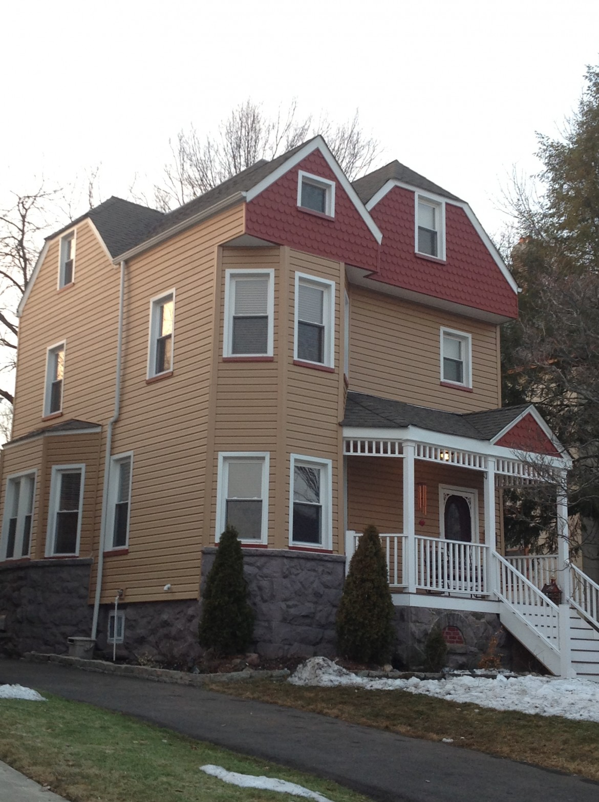 Residential Siding Project, Montclair, NJ