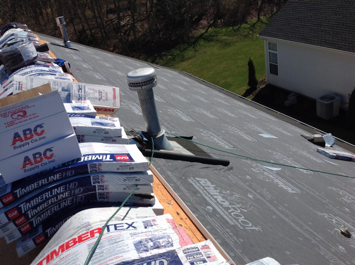 Roofing Project, New Jersey