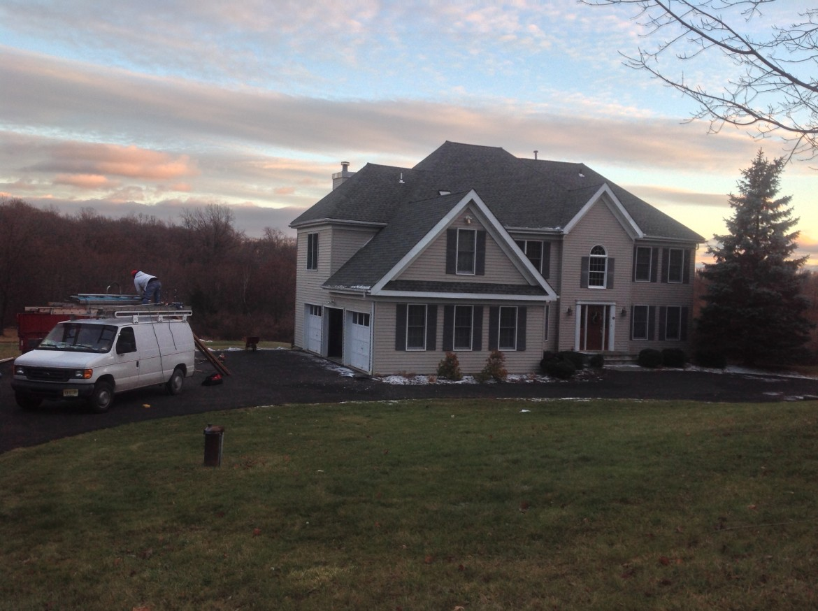 Residential Roofing Project, Chester, NJ