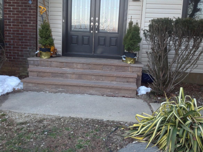 Masonry Step Project, Marlboro, NJ