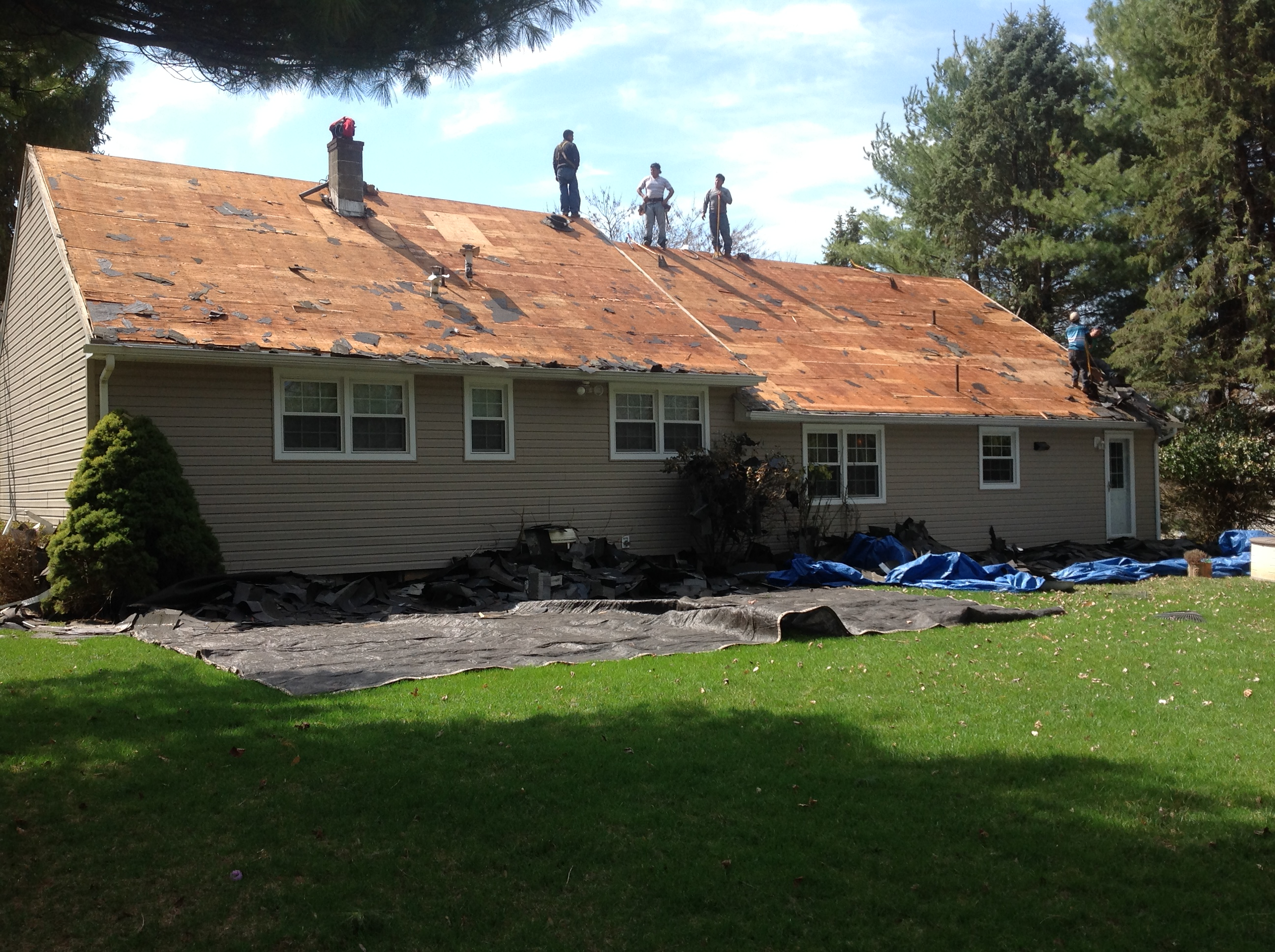 Residential Roofing Project, Clinton, NJRoofing